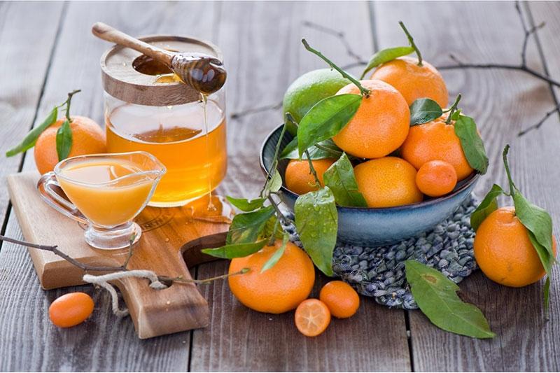 عسل گل های نارنج و مرکبات (Orange):