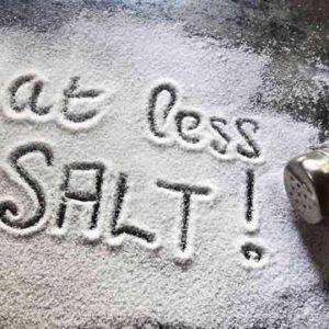کاهش مصرف نمک