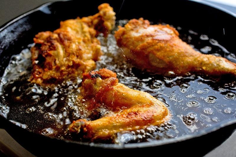 ترکیبات غذایی سمی- سرخ کردنی ها