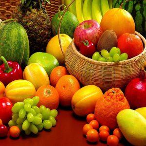 مصرف میوه ها