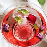 شربت میوه گل سرخ