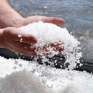 تاثیر نمک دریا