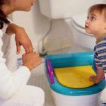 مشکلات توالت رفتن بچه ها