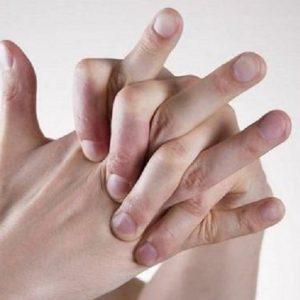 انگشت شکستن