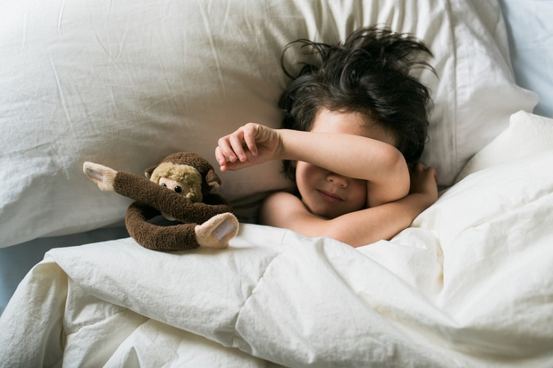 مشکلات شبانگاهی کودک -4