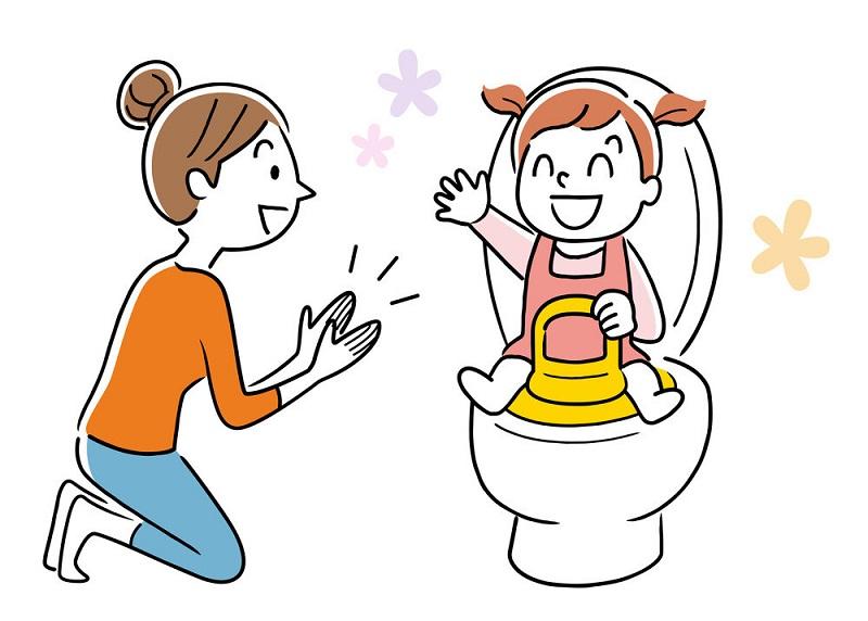 مشکلات توالت رفتن کودک