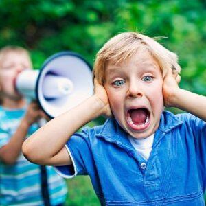 ترس کودکان از صداهای بلند