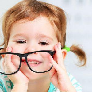 عینک زدنکودکان