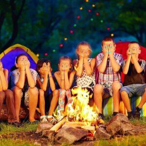 آتش بازی در بین بچه ها
