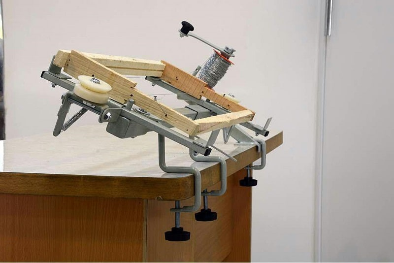 دستگاه سیم کشی قاب برای استقرار محكم برگه موم آجدار