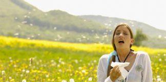 آلرژی به گرده گل