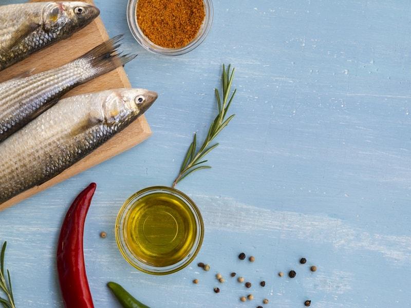 ماهی و روغن زیتون سرشار از ویتامین D