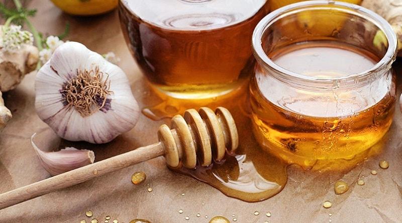 مصرف سیر با عسل