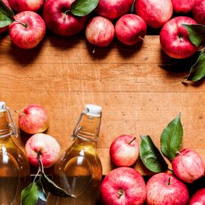 درمان بواسیر با سرکه سیب