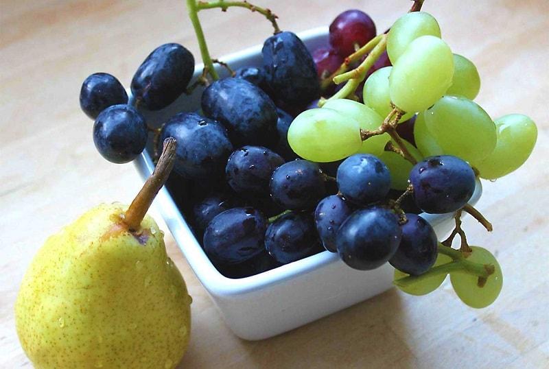 مصرف انواع انگور برای گروه خونی B