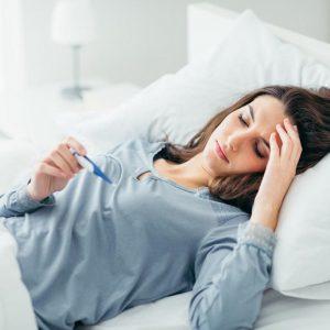 درمان تب با سیر