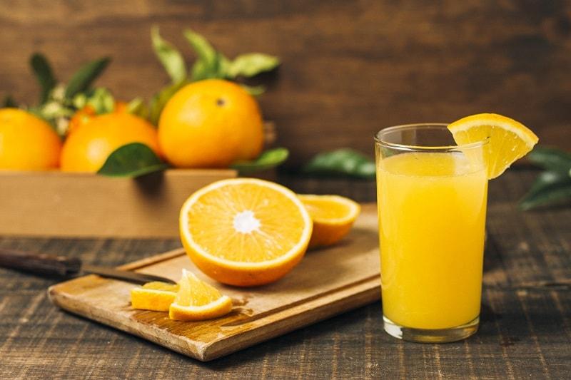 آب پرتقال برای سنگینی اعصاب