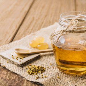درمان سرخک با عسل