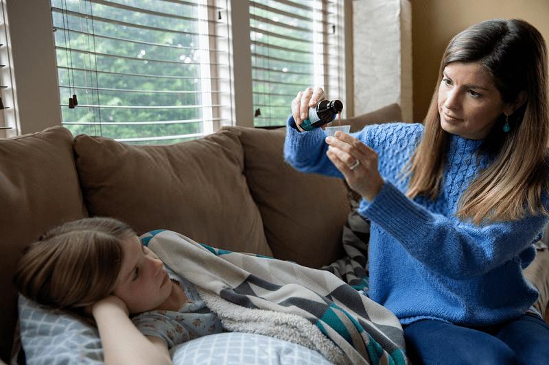 الف: درمان مشترک امراض سرد و گرم تنفسی
