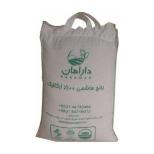 برنج سفید نیم دانه ارگانیک دارامان