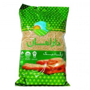 برنج قهوه ای ارگانیک دارامان