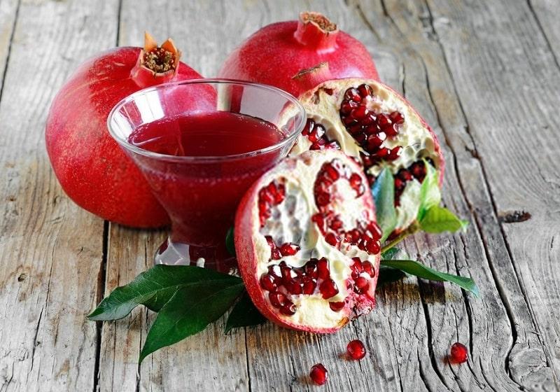 تان نات پل له تیه رین موجود در ترکیبات درخت انار