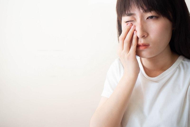 فرورفتگی جسم داخل چشم