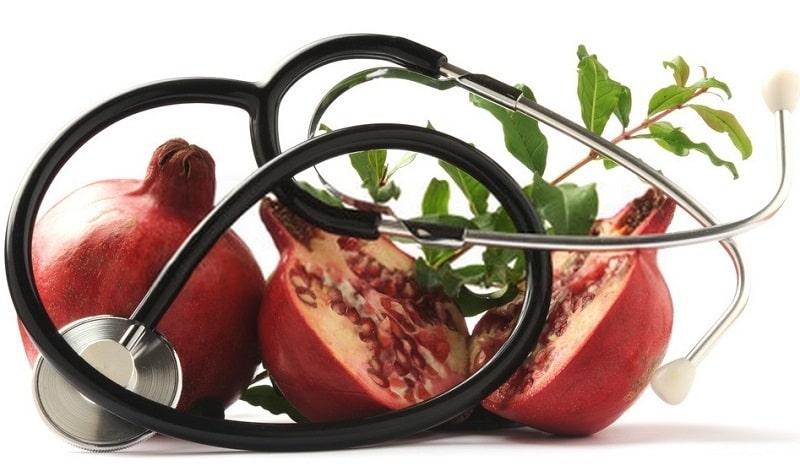خواص درمانی درخت انار
