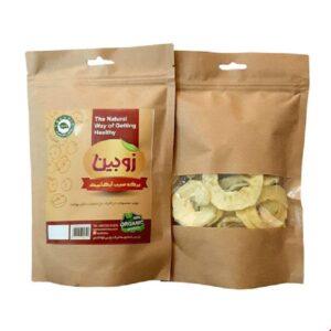 برگه سیب خشک ارگانیک زوبین