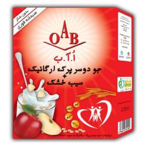 صبحانه ارگانیک (جو دوسر پرک و سیب) OAB