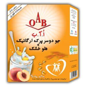 صبحانه ارگانیک (جو دوسر پرک و هلو) OAB