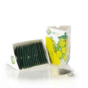 چای سبز و لیمو ارگانیک نافه