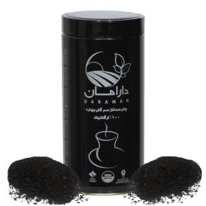 چای سیاه سرگل ارگانیک دارامان (جعبه استوانه ای)