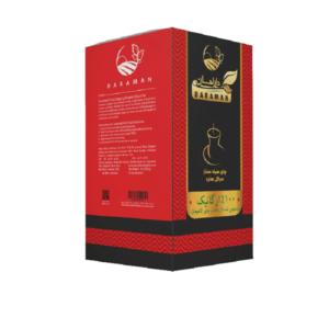 چای سیاه سرگل بهاره ارگانیک دارامان (جعبه مقوایی)