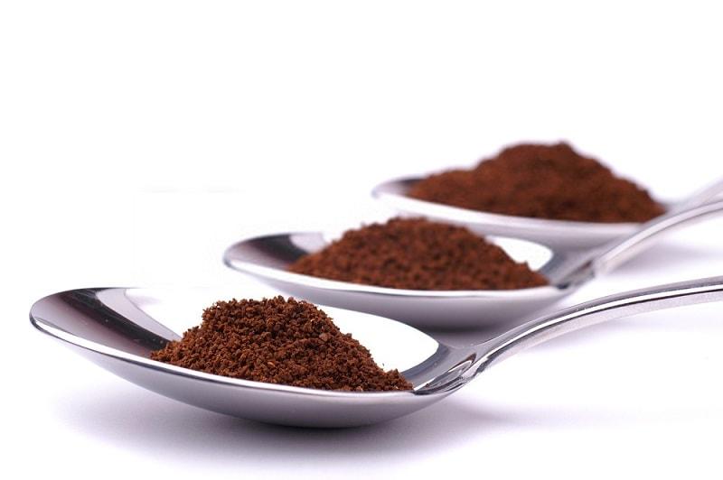 محتوی نوع خرد شده بو داده قهوه