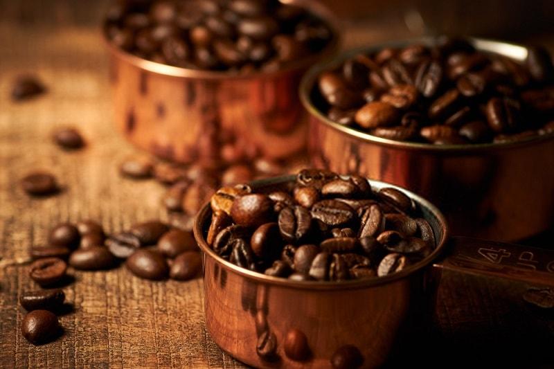 نگهداری دانه قهوه بو داده