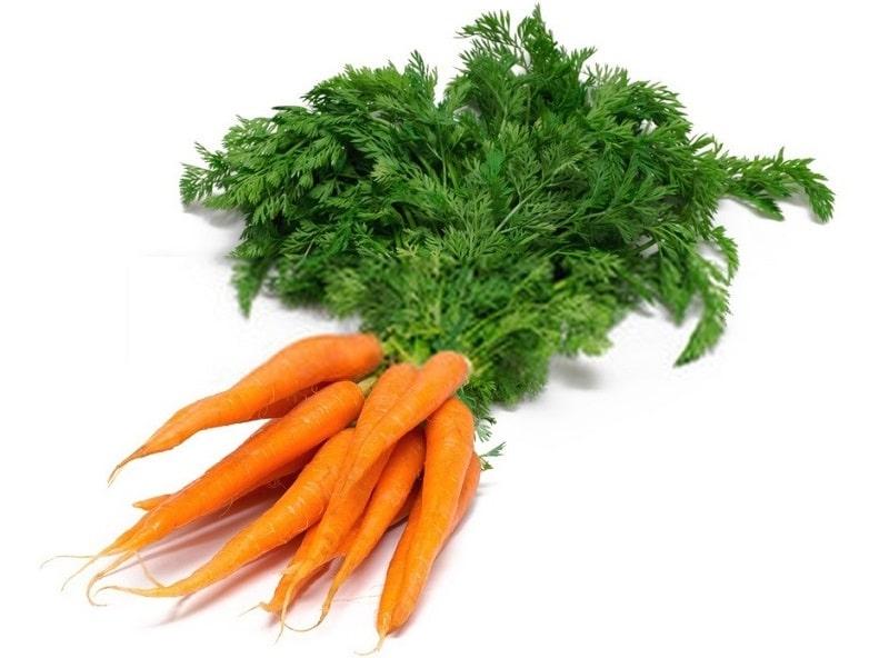 ترکیبات شیمیایی هویج