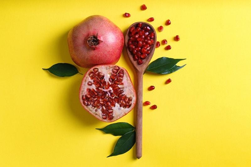 انار برای درد ناشی از سنگینی و ضعف هضم