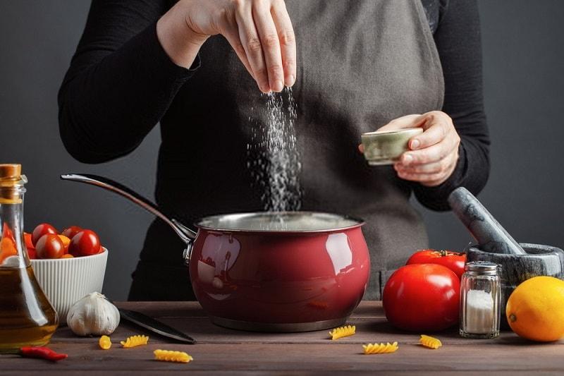خواص غذاها -سنگ نمک