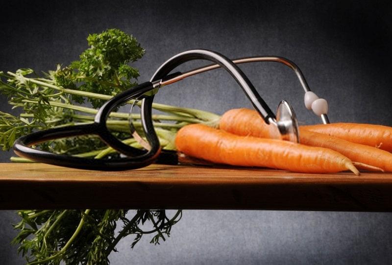 خواص درمانی هویج