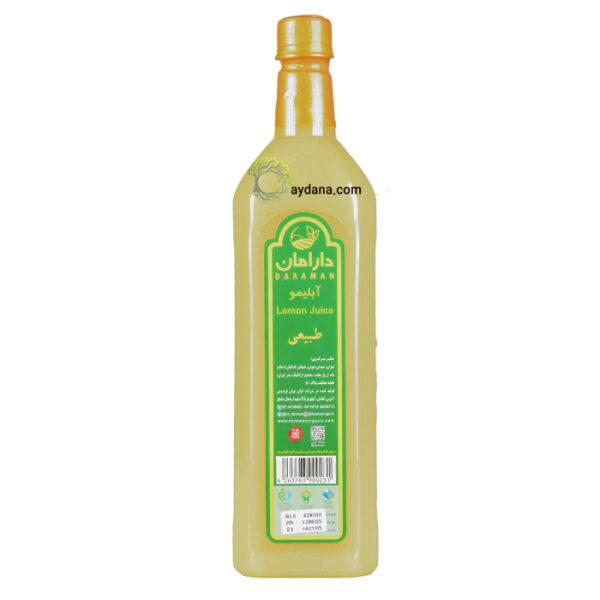 آبلیمو ارگانیک دارامان 1 لیتری