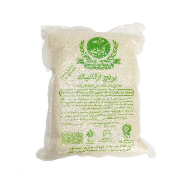 برنج سفید ارگانیک -شکراله پور 1 کیلویی