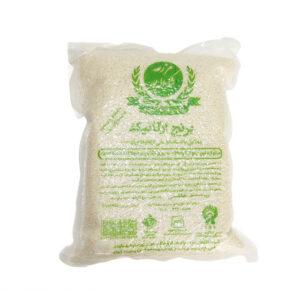 برنج سفید ارگانیک شکرالهپور 2 کیلویی