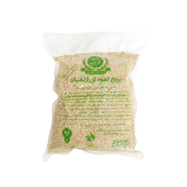 برنج قهوه ای ارگنایک شکراله پور