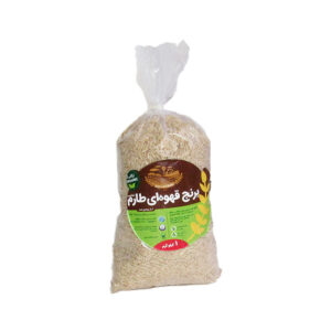 برنج قهوه ای ارگانیک نعمتی