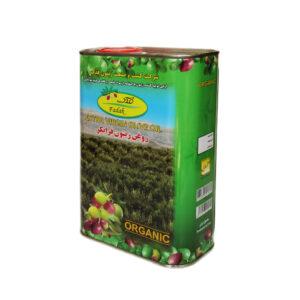 روغن زیتون فرابکر ارگانیک 3 لیتری فدک