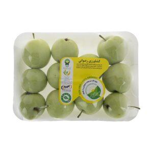سیب گلاب ارگانیک ۵۰۰ گرمی رضوانی