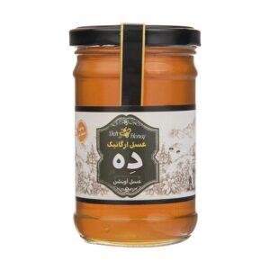 عسل آویشن ارگانیک 360 گرم ده در