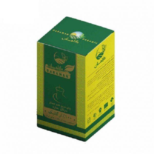 چای سبز قلم سرگل بهاره ارگانیک دارامان