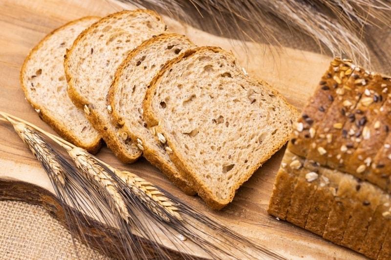 نان های کم نمک - گندم